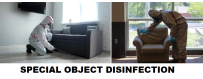 SPECIAL OBJECT DISINFECTION