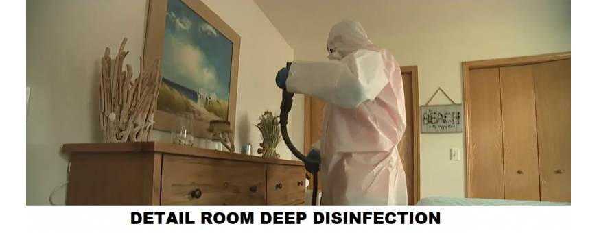 ROOM DEEP DISINFECTION